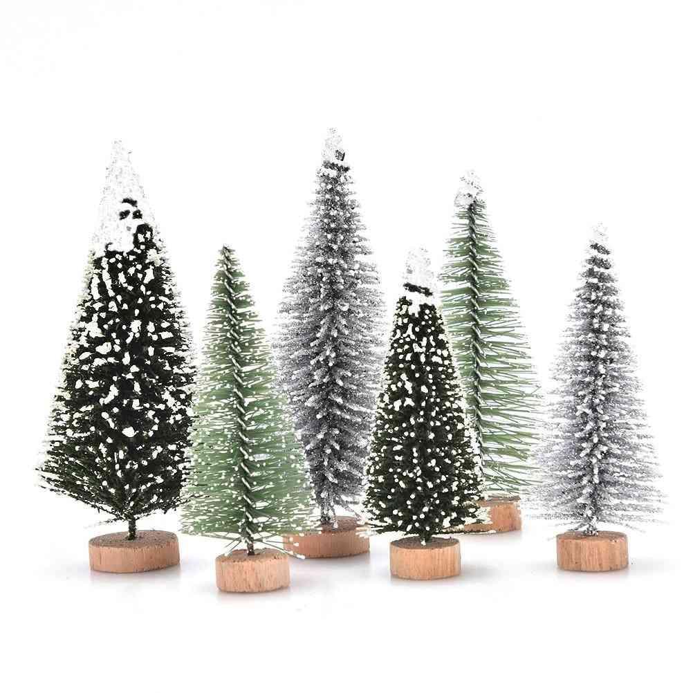 Artificial Sisal Snow Landscape Architecture Trees