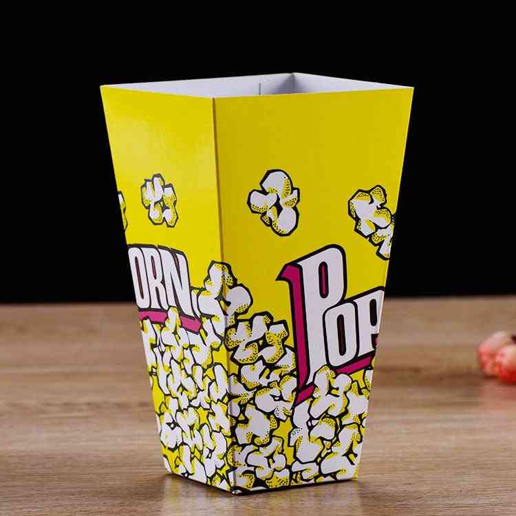 Disposable Popcorn Box Paper Cup