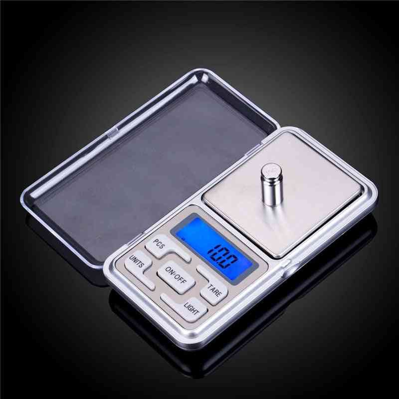 Digital Pocket Scale Kitchen Portable Lcd Electronic Jewelry Gold Diamond Herb Balance Weight Weighting Scale