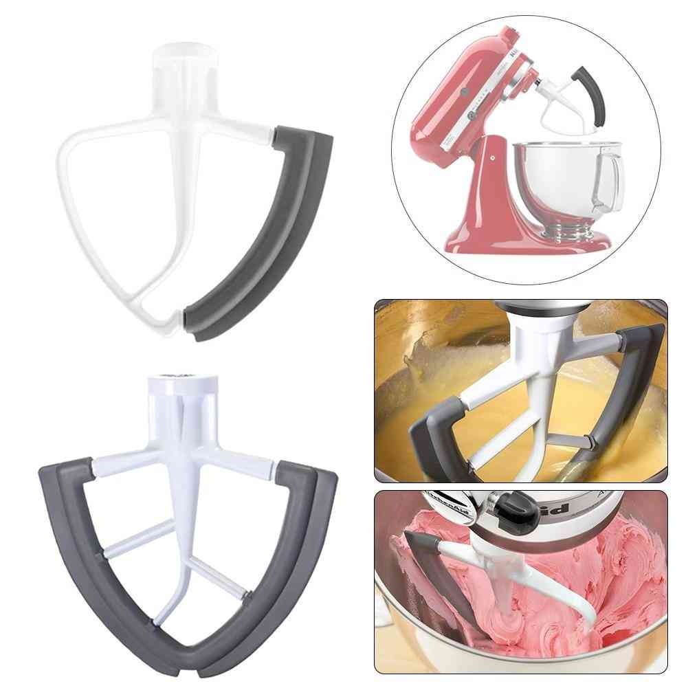 Wing Shape Flat Beater Mixer Blade With Bowl Scraper
