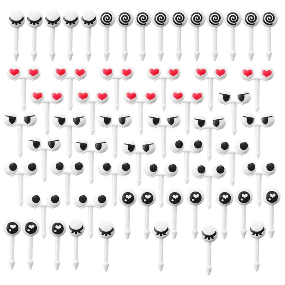 Cartoon Mini Eyes Cute Reusable Fork