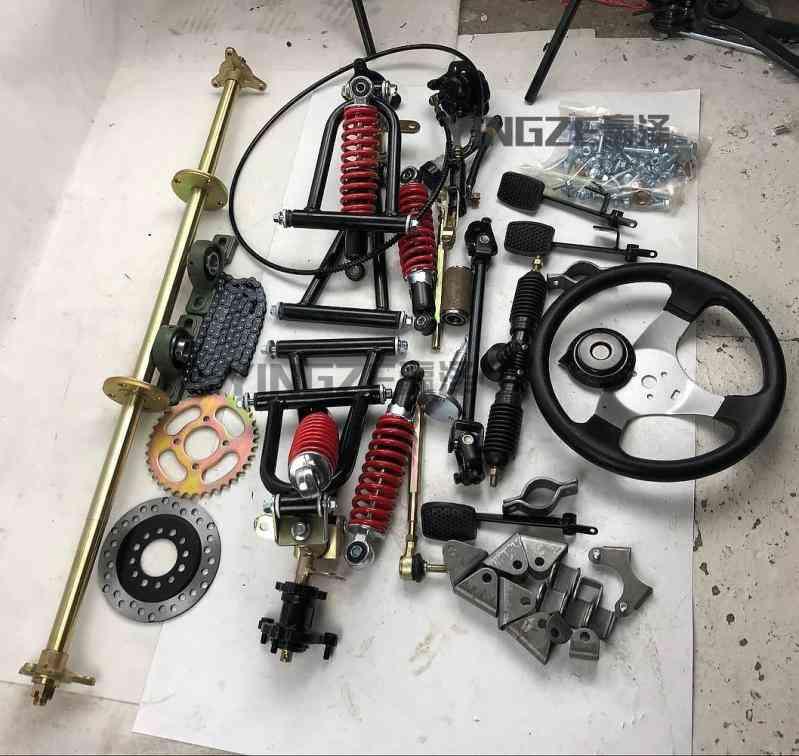 Axle Steering Gear Pack