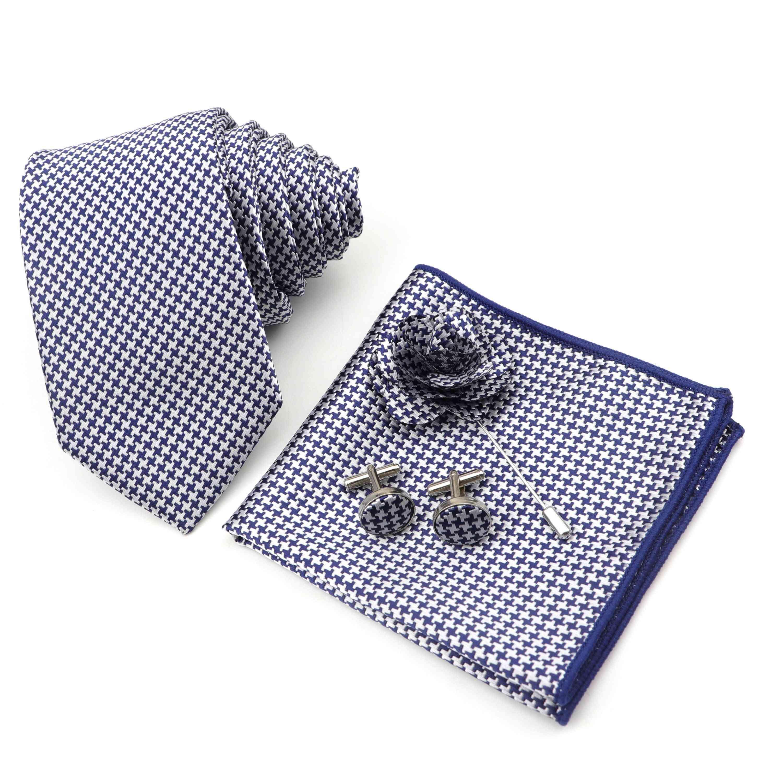 Men's Tie Handkerchief Cufflinks