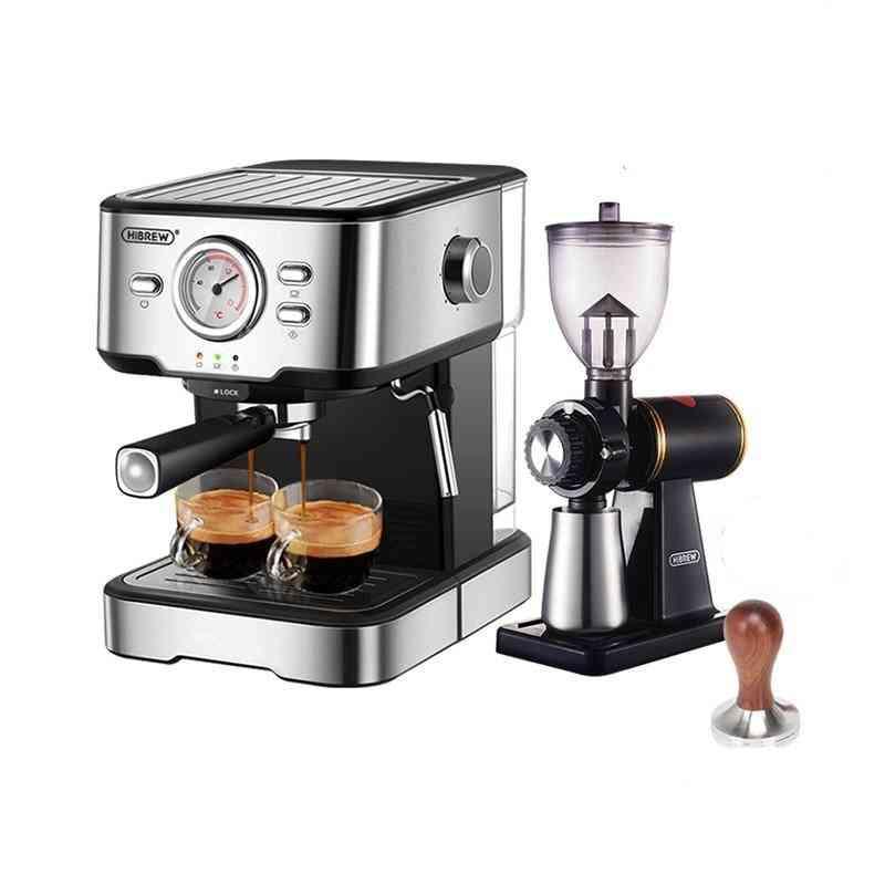 Coffee Machine Cafetera 20 Bar Espresso Inox