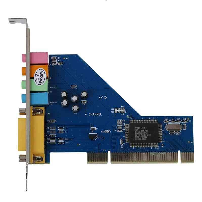 Audio Stereo Internal Pci Sound Card