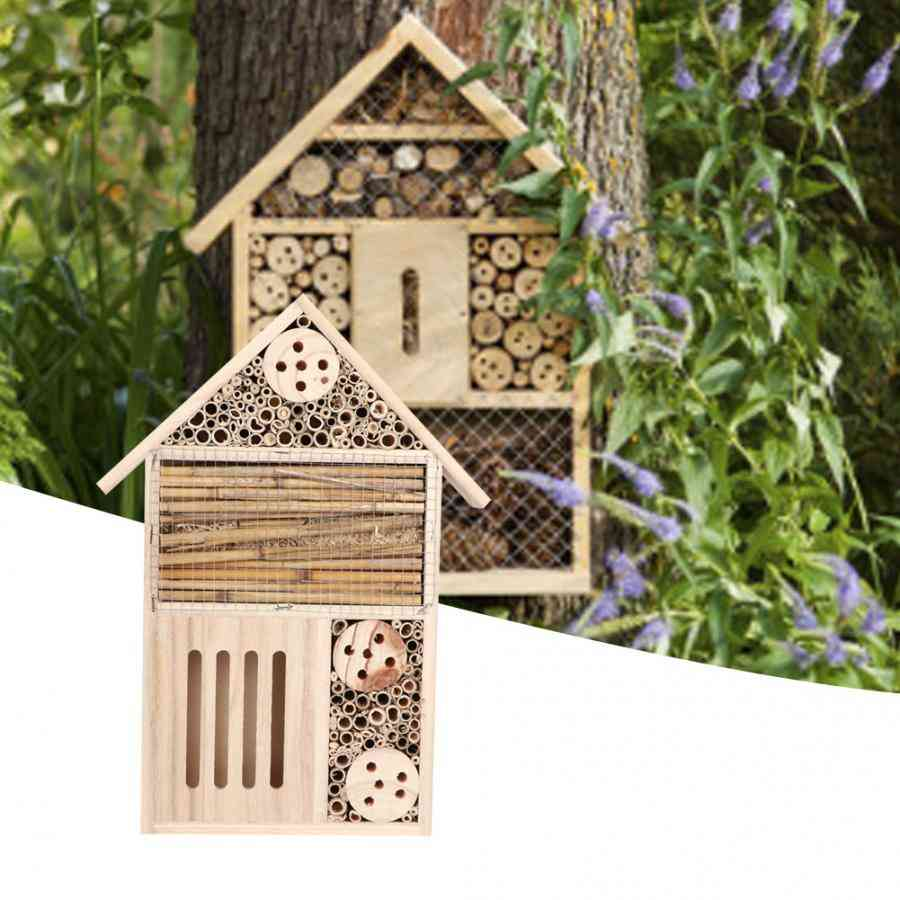 Durable Wooden Insect Bee House