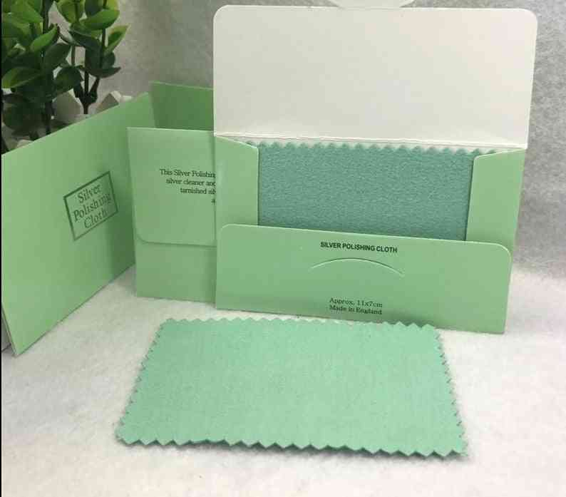 Sterling Jewelry Cleaning Cloth Polishing Cloth 11x7cm Women Jewelry Cleaning Cloth