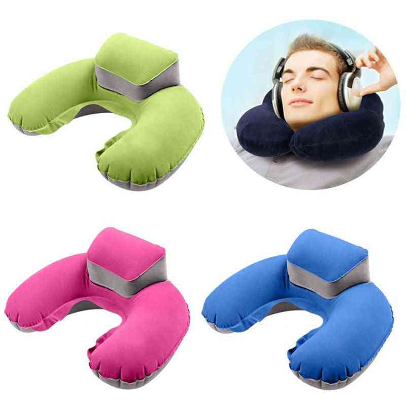 Foldable U-shaped Neck Support Pillow