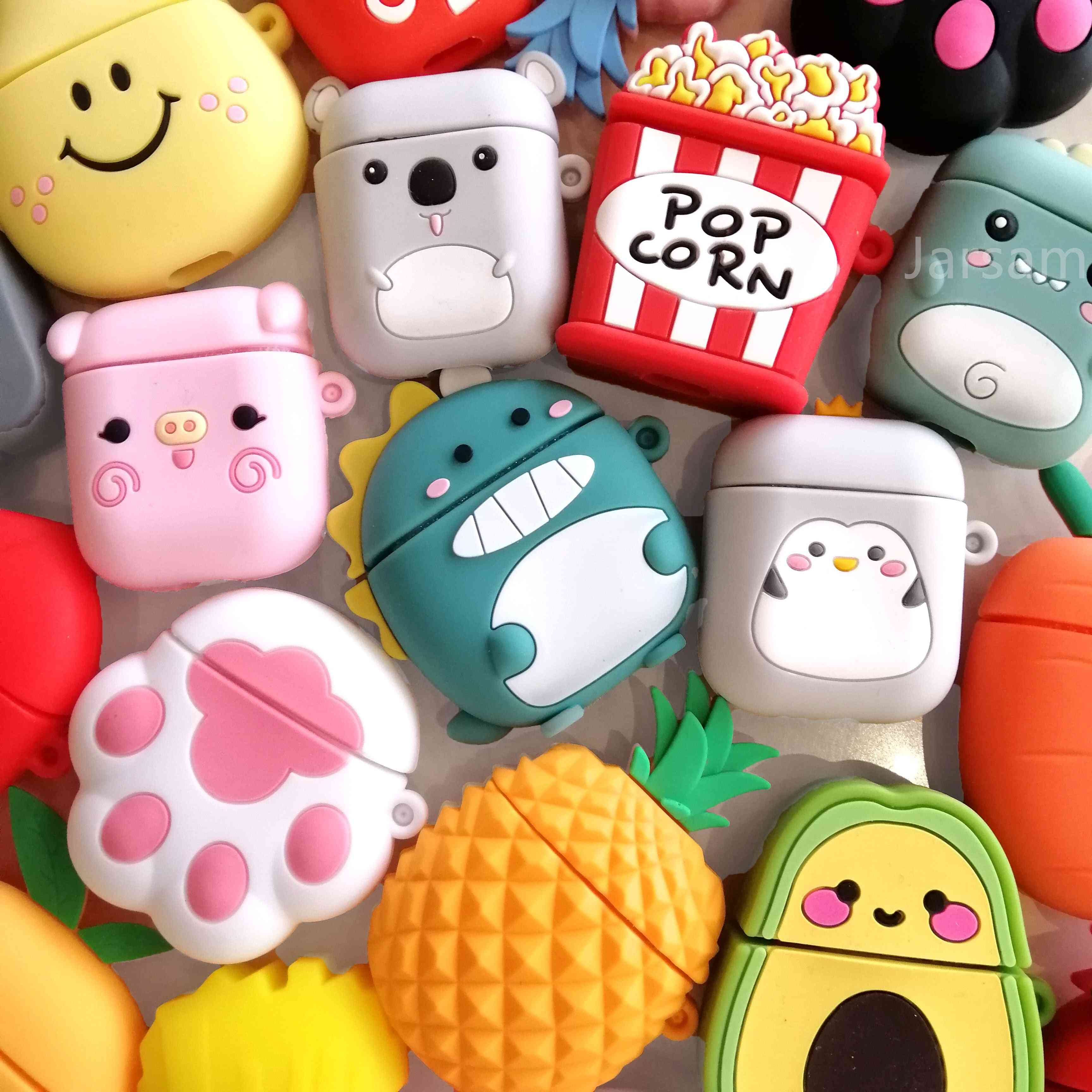 Cartoon For Airpods Case Silicone Cover