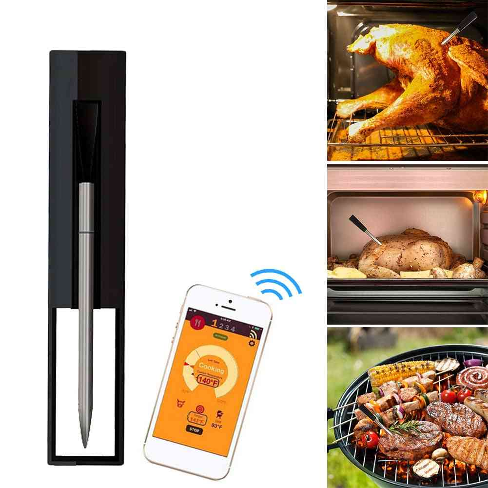 Smart Bluetooth-compatible Connection Meat Thermometer