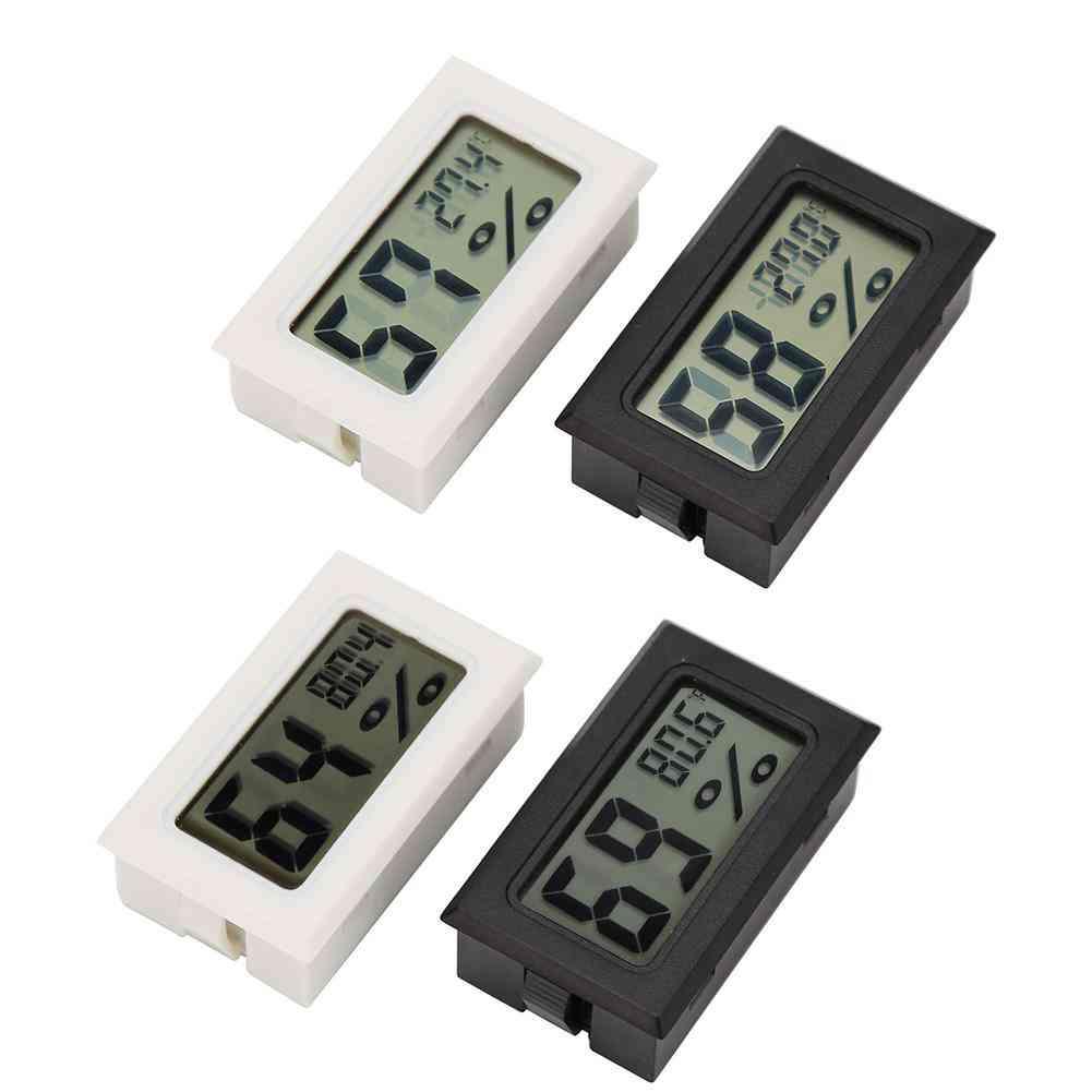 Mini Digital Lcd Temperature Humidity Meter Thermometer