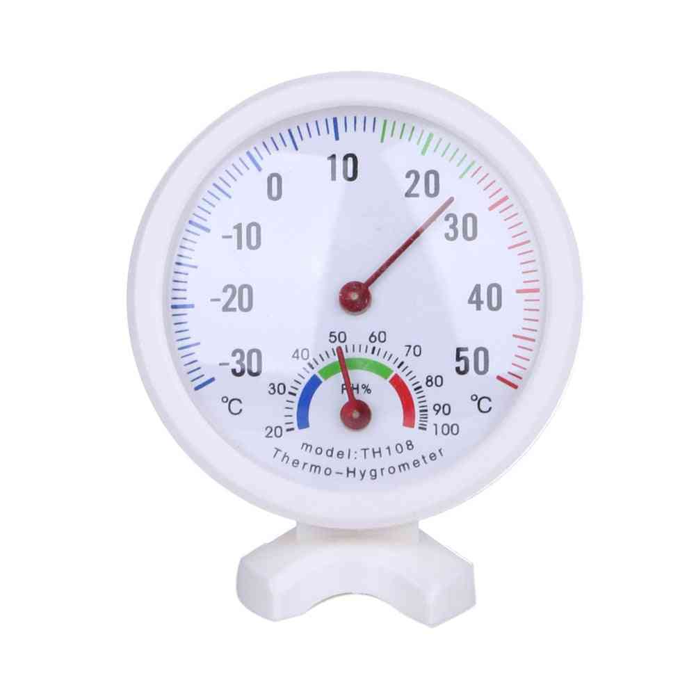 Mini Bell-shaped Scale Thermometer And Hygrometer