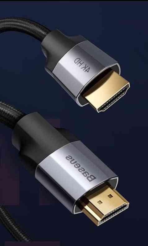 Baseus Hdmi-compatible  Extension Splitter Cable