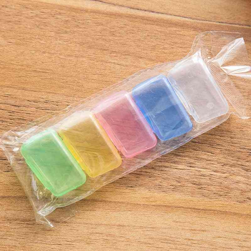 Portable Toothbrush Head Cover Case