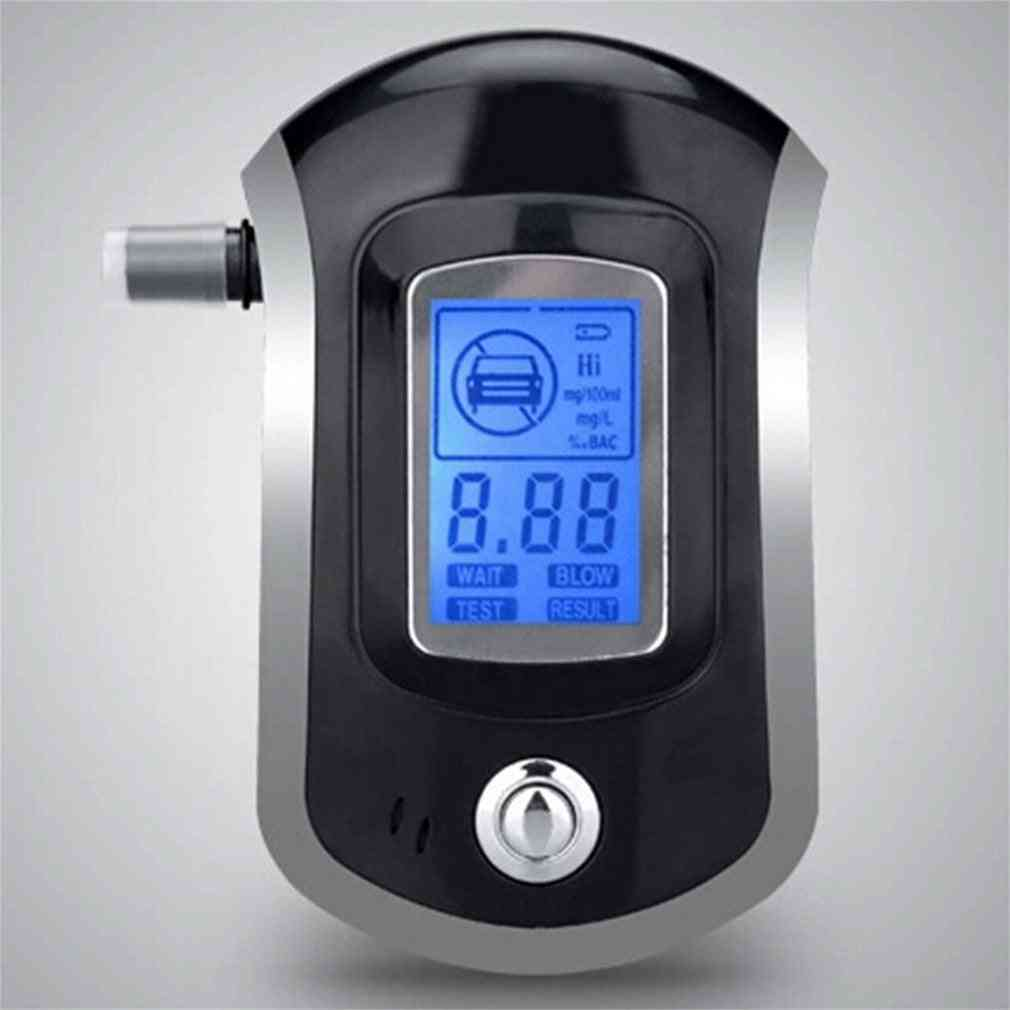 Alcohol Tester Breathalyzer With Lcd