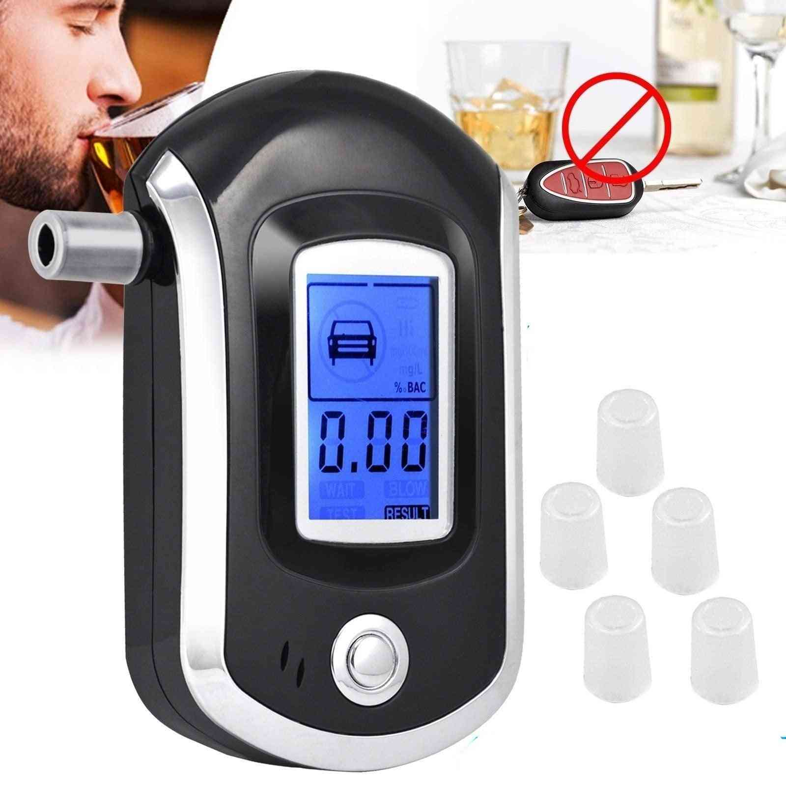 Alcohol Breath Tester Alcohol Detector