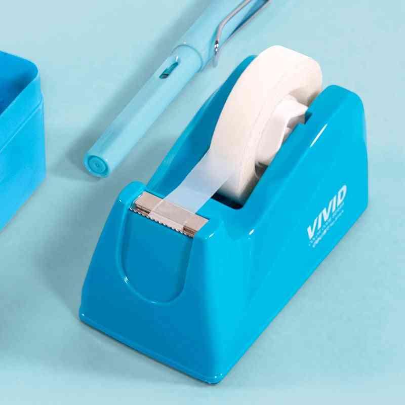 Stationery Masking Tape Cutter, Washi Storage Organizer, Cutter, Office Dispenser Supplies