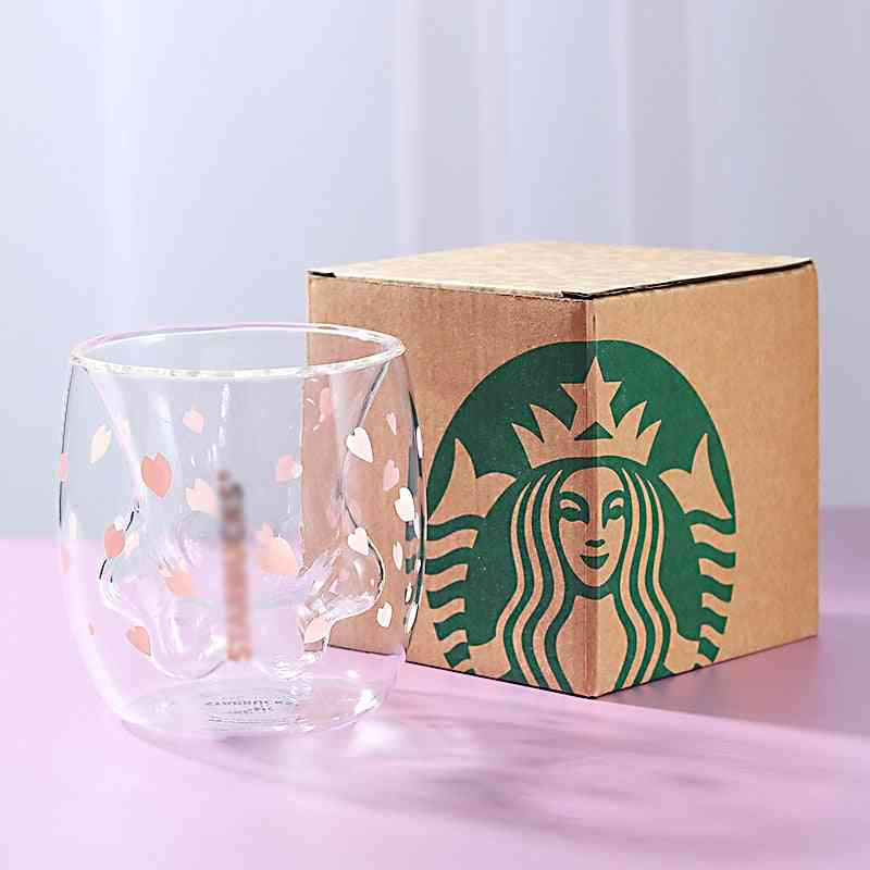 Double Glass Coffee Mug