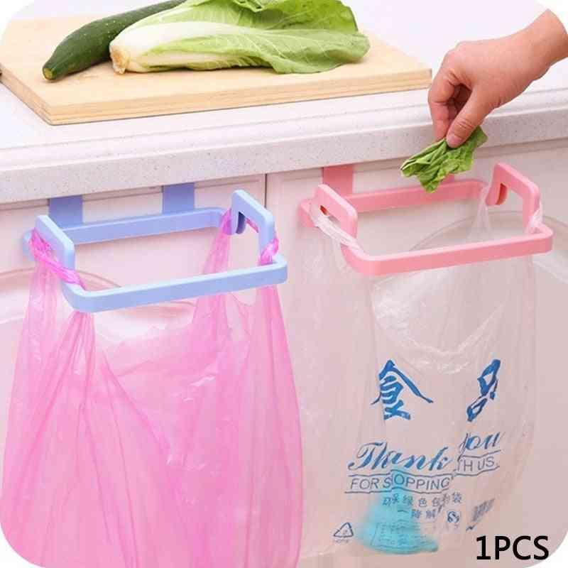 Portable Hanging Trash Bag Storage Rack