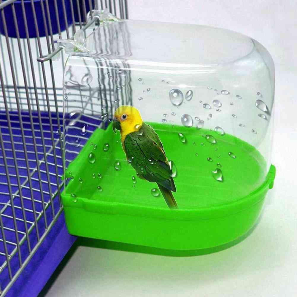 Bird Cage Bath Box