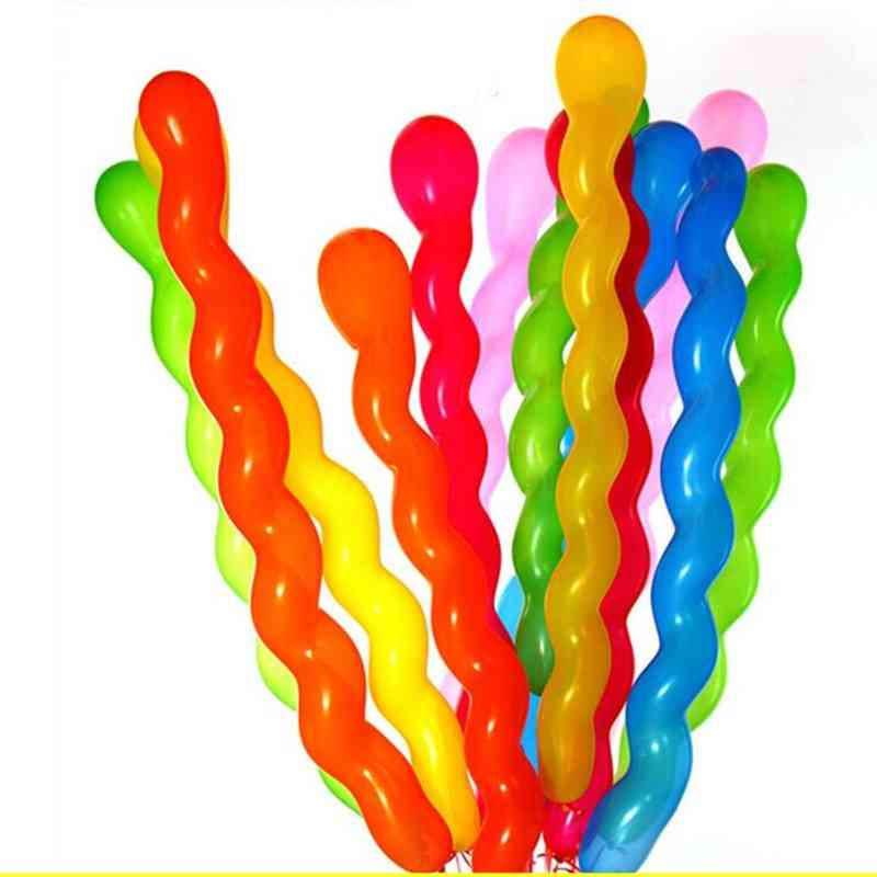 Twisted Latex Spiral Thickening Long Balloon