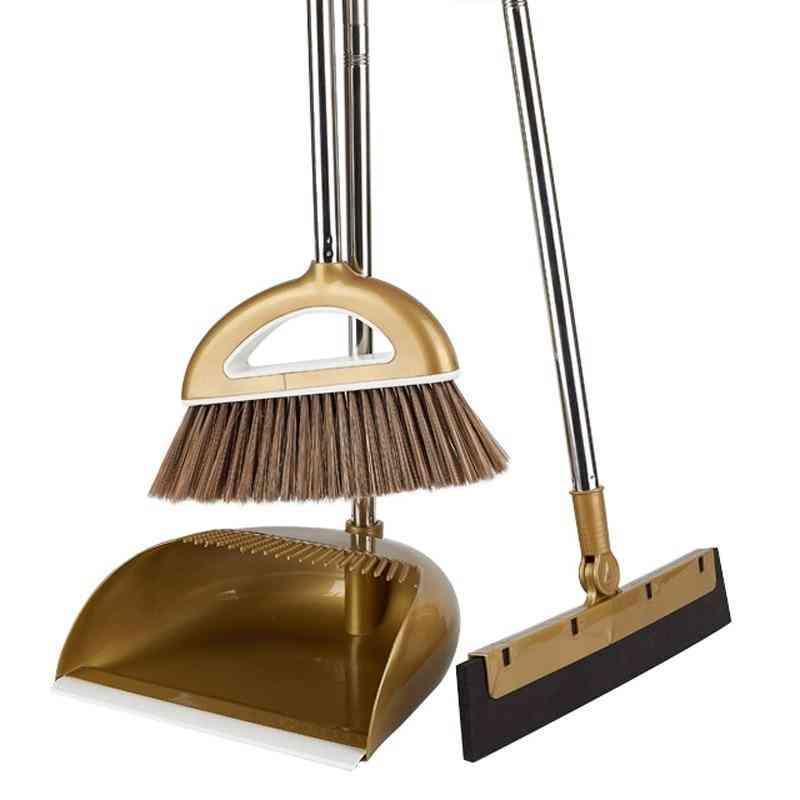 Multifunction Household Dustless Dustpan Cleaning Set