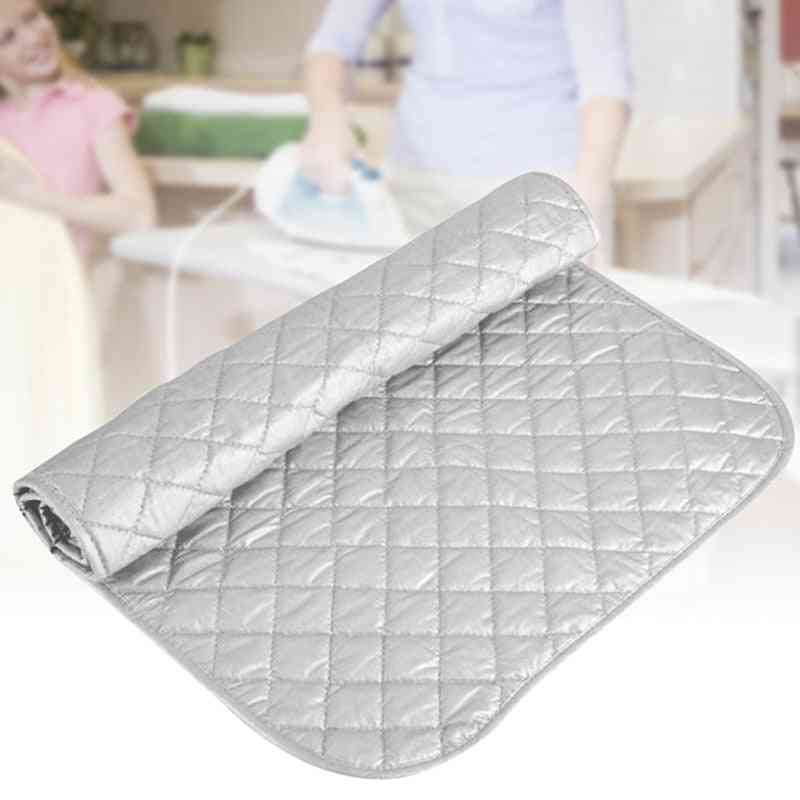 Table Top Ironing Mat Laundry Pad, Washer Dryer Cover Board