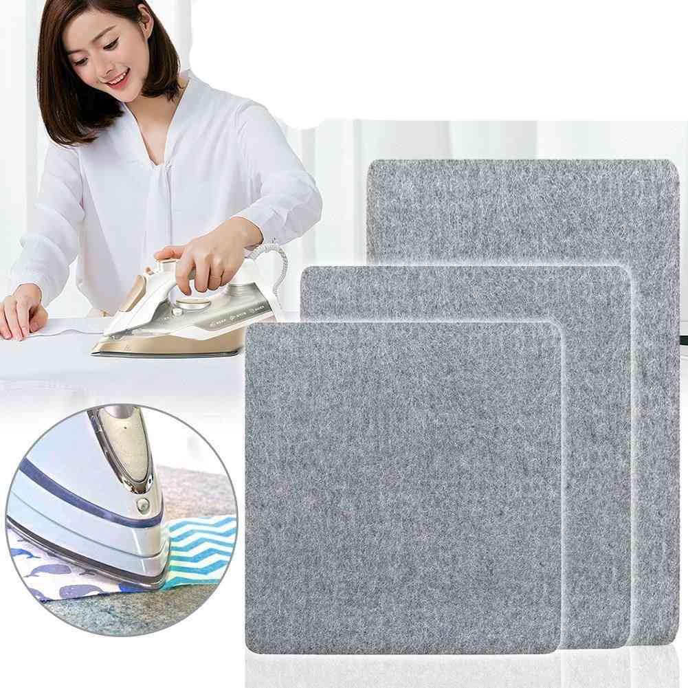Wool Pressing Mat Ironing Pad, High Temperature Ironing Board