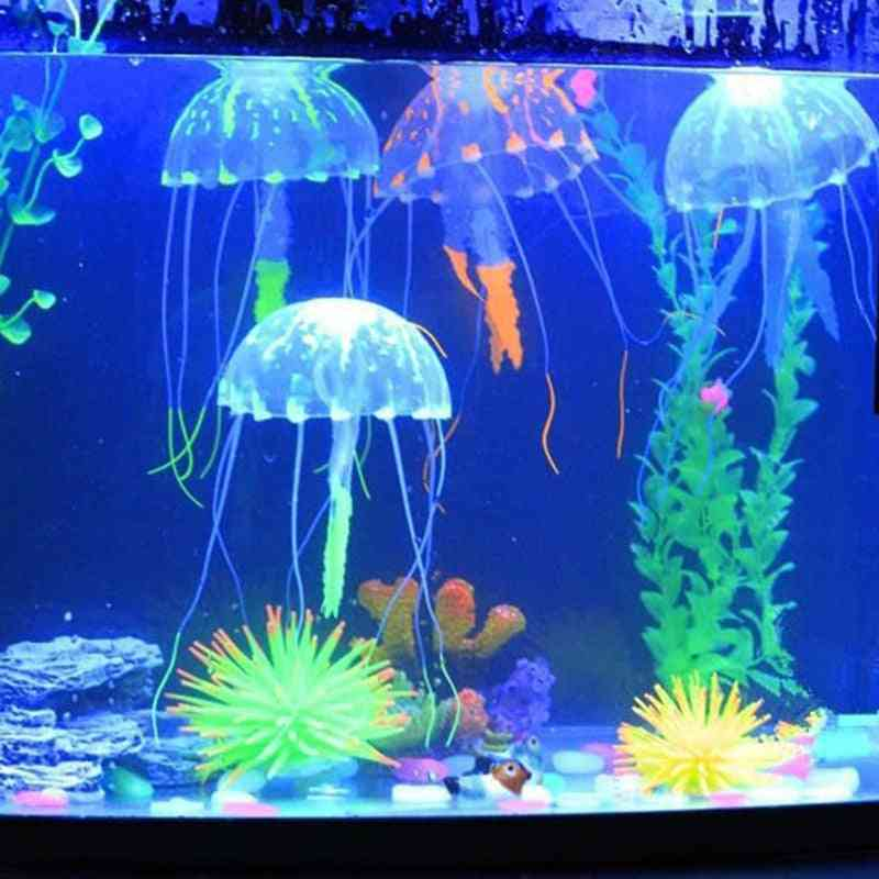 Colorful Glowing Effect Jellyfish