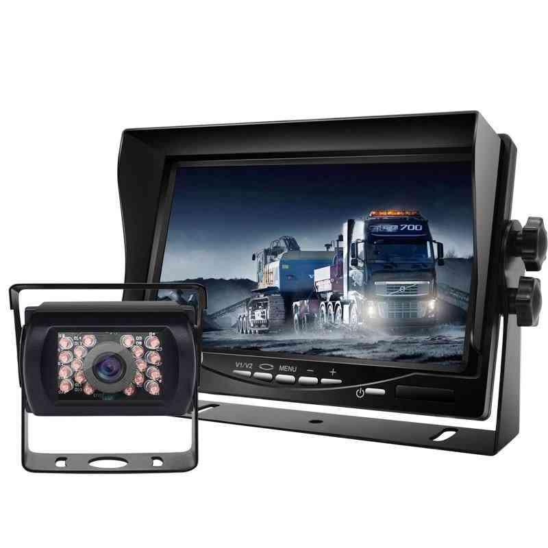 Car View Camera High Definition 7inch Digital Lcd Car Monitor