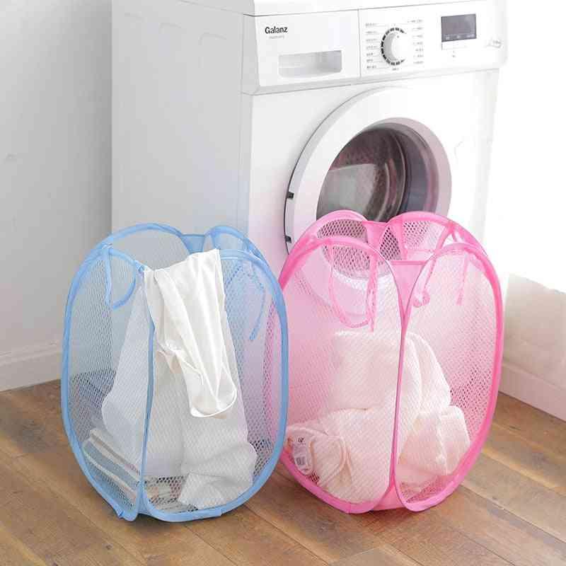 Home Pop Up Bathroom Laundry Basket