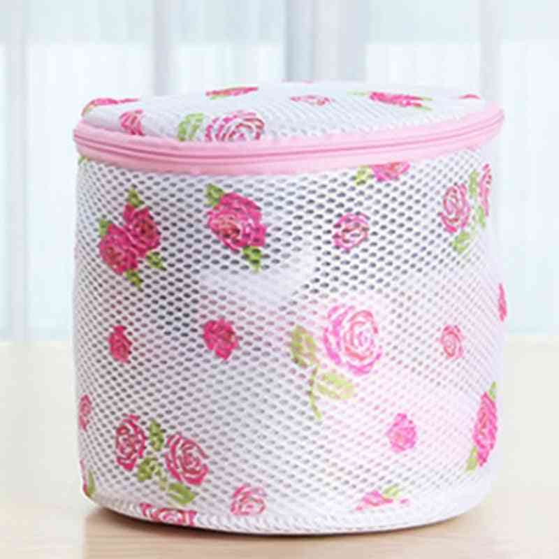 Floral Color Clothes Washing Machine Laundry Bags