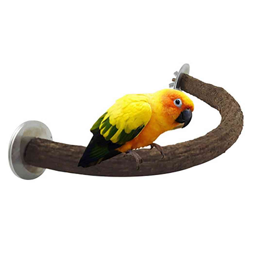 Wooden Stand For Pet Bird