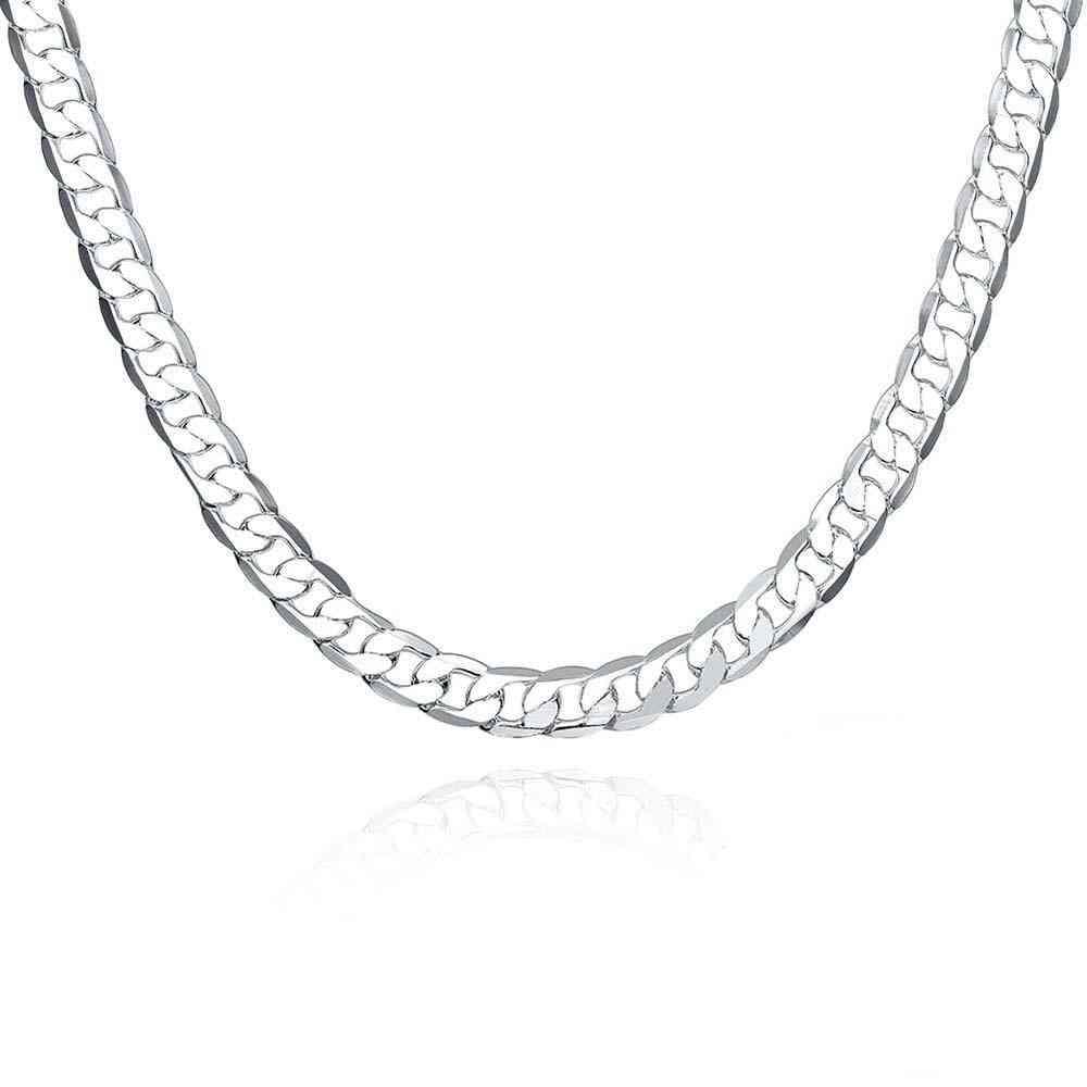 Sterling Silver Men Necklace