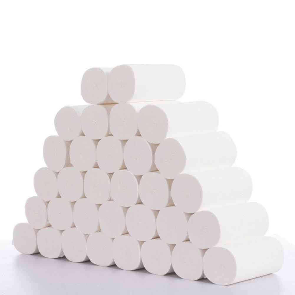 Primary Wood Pulp Toilet Paper Tissue Roll