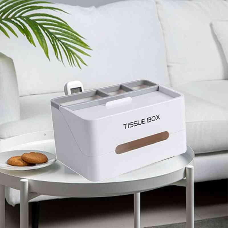 Multifunctional Desktop Drop-resistant Tissue Box