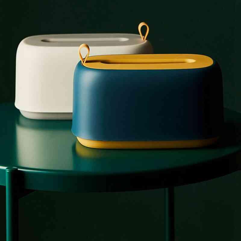 Creative Cute Nordic Light Luxury Multifunctional Storage Tissue Box