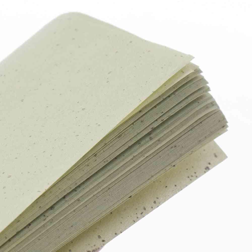 Green Tea Makeup Cleansing Oil Absorbing Face Paper