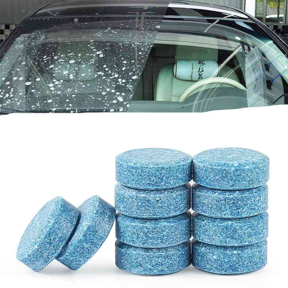 Car Washer Window Car Cleaning Pill Effervescent Tablets Auto Windshield Window Glass