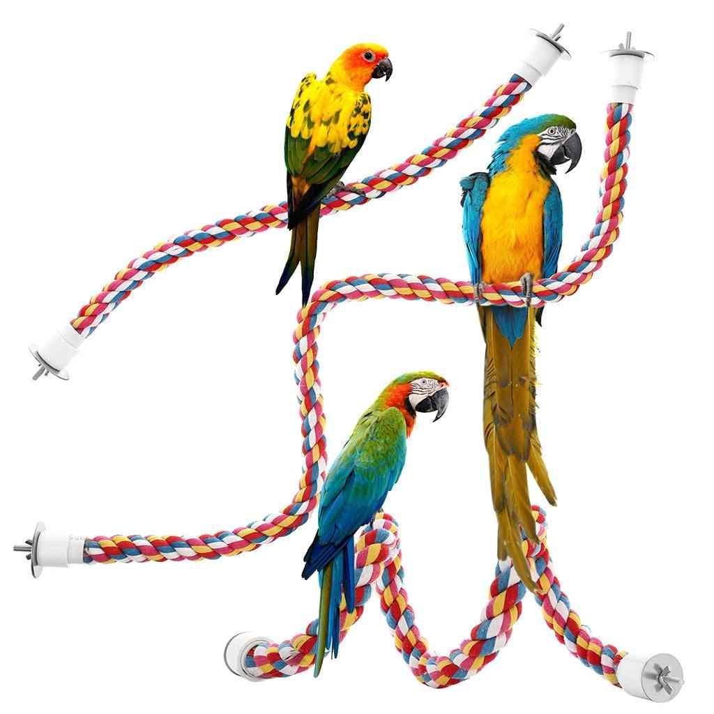 Bungee Bird Hanging Multicolor Rope