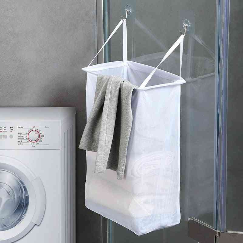 Portable Wall Mounted Punch-free Laundry Basket
