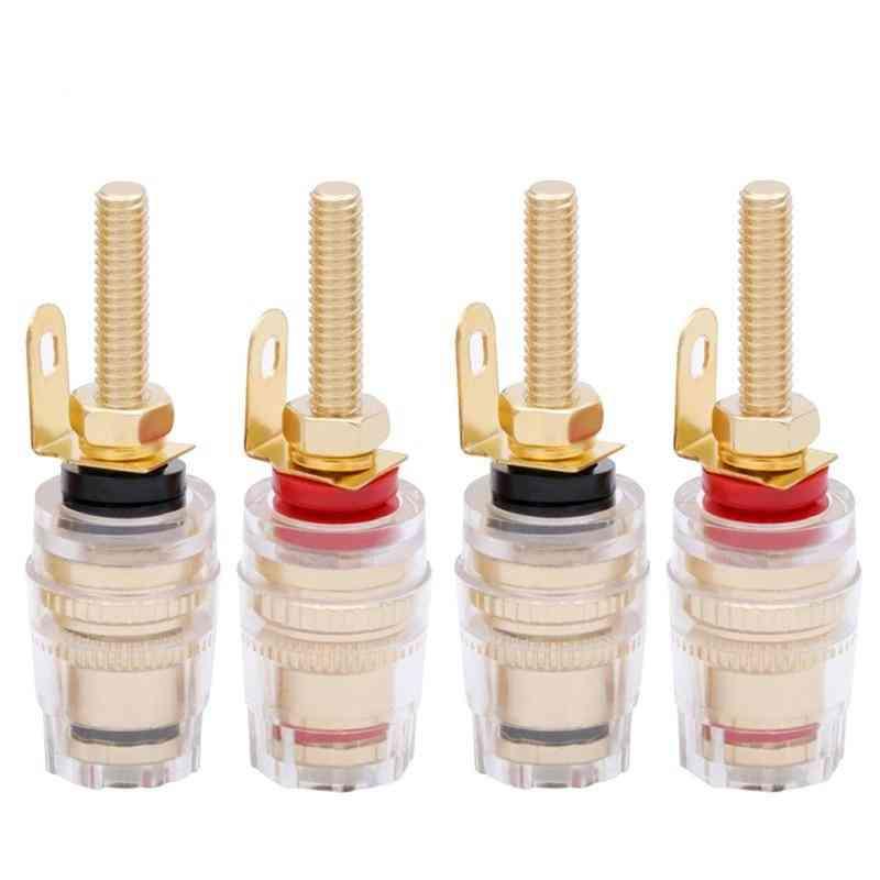 Binding Post Amplifier Speaker Connector