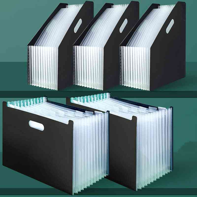 Document Paper Storage Holder, Multilayer Expanding Box