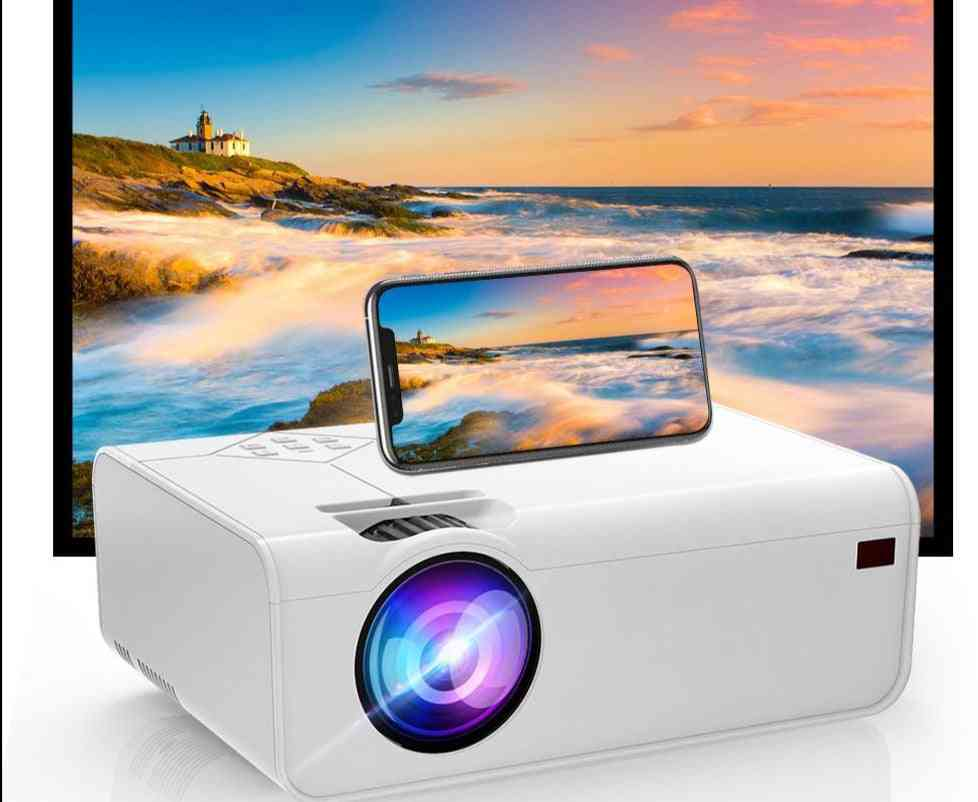 Mini Projector Resolution Support With Wifi 3d Bluetooth Home Cinema Projector