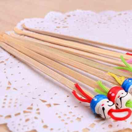 Cute Mini Doll Bamboo Earpicks