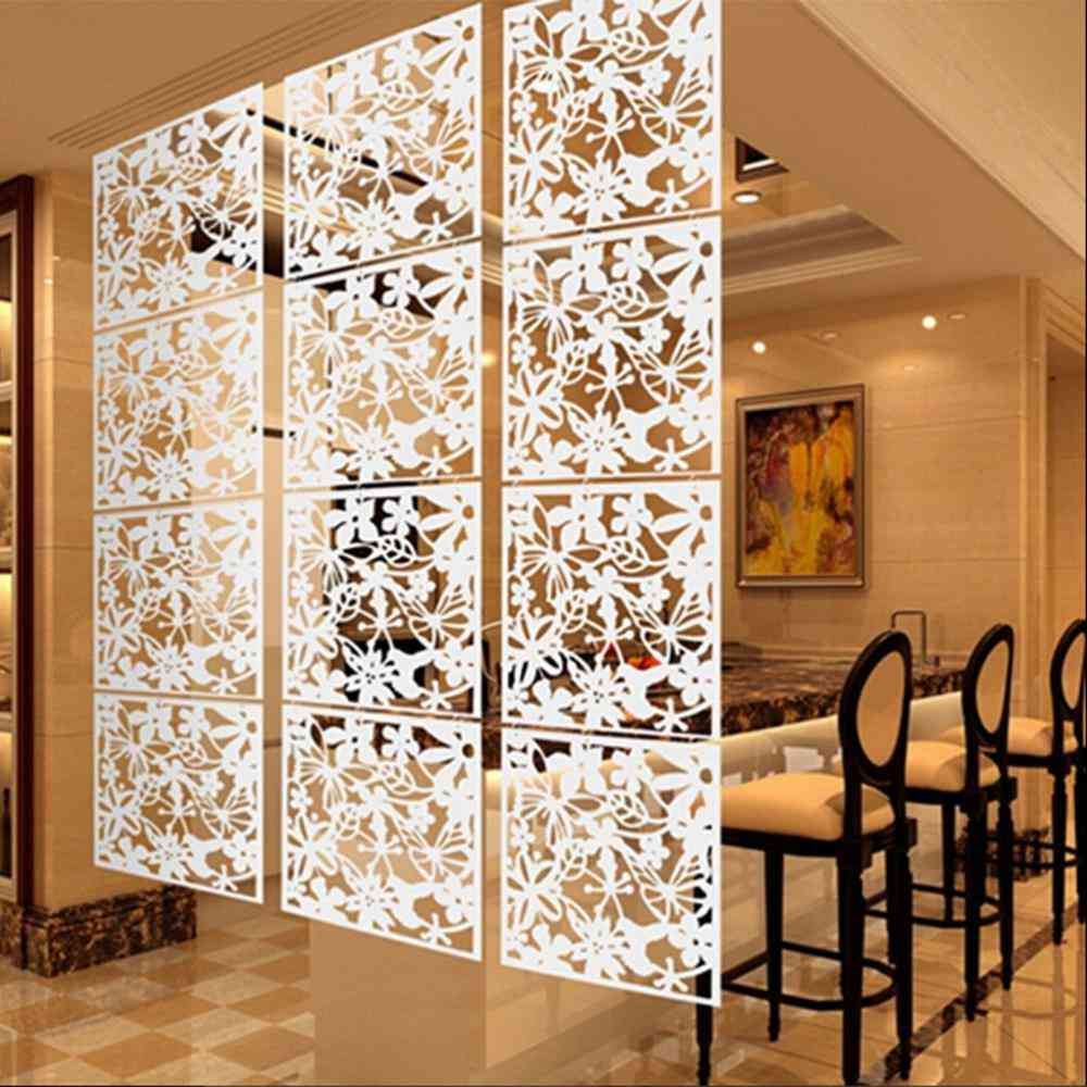 Room Divider Screen Pvc Simple And Modern Hanging Panel
