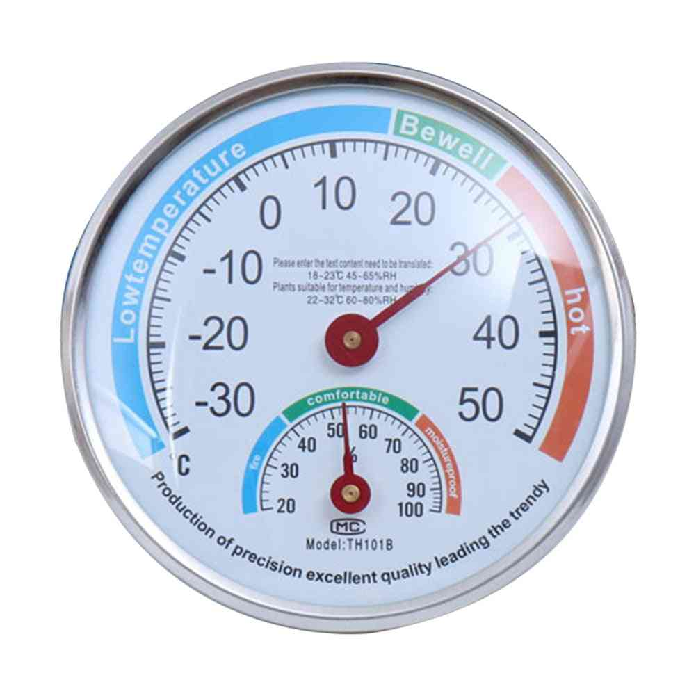 Round Touch Screen Home Hygrometer