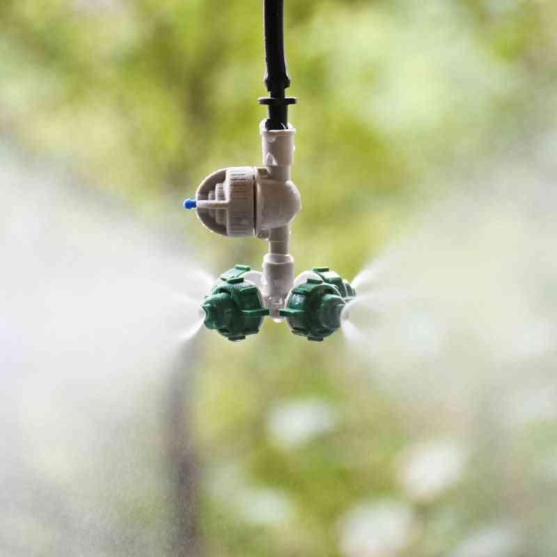 Anti Drip Misting Nozzle Cross Fog Nozzle
