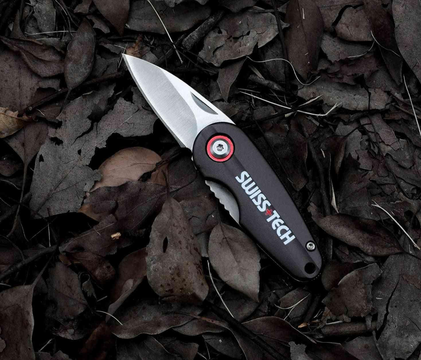 Mini Folding Knife, Portable Key Ring