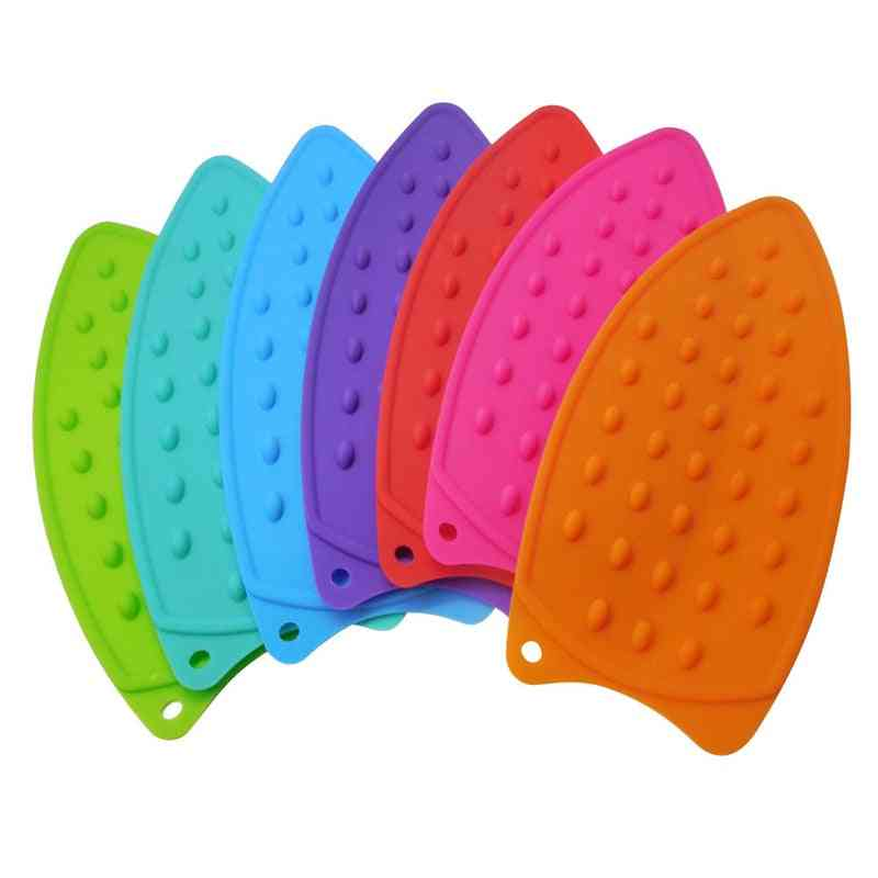 Multicolor Silicone Iron Hot Protection Rest Pads